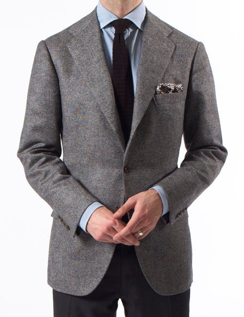 Calvo de Mora bespoke jacket madrid