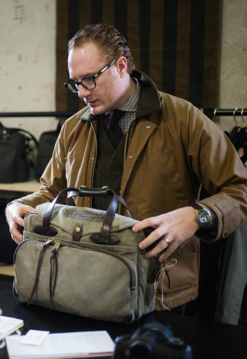 Filson vinage bag