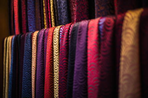 Charvet ties Paris