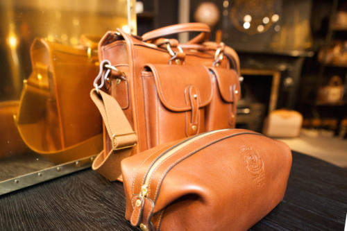Ghurka leather bags Fortnum2