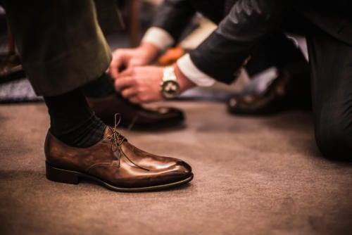 Bespoke Santoni shoes – Fatto a Mano Su Misura – Permanent Style b80090b79bc