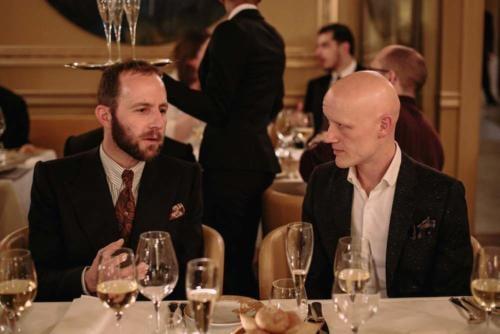 Davide Taub Gieves and Euan Denholm Edward Green at the Gathering