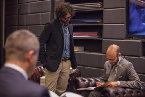 Permanent Style book launch Milan Simon Crompton
