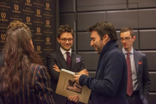 Permanent Style book launch Milan VBC