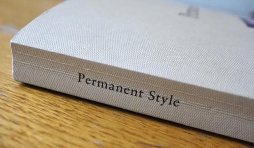 Permanent Style book