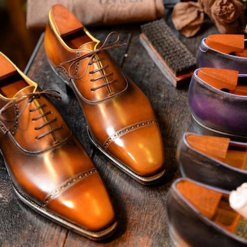 Corthay laces shoe