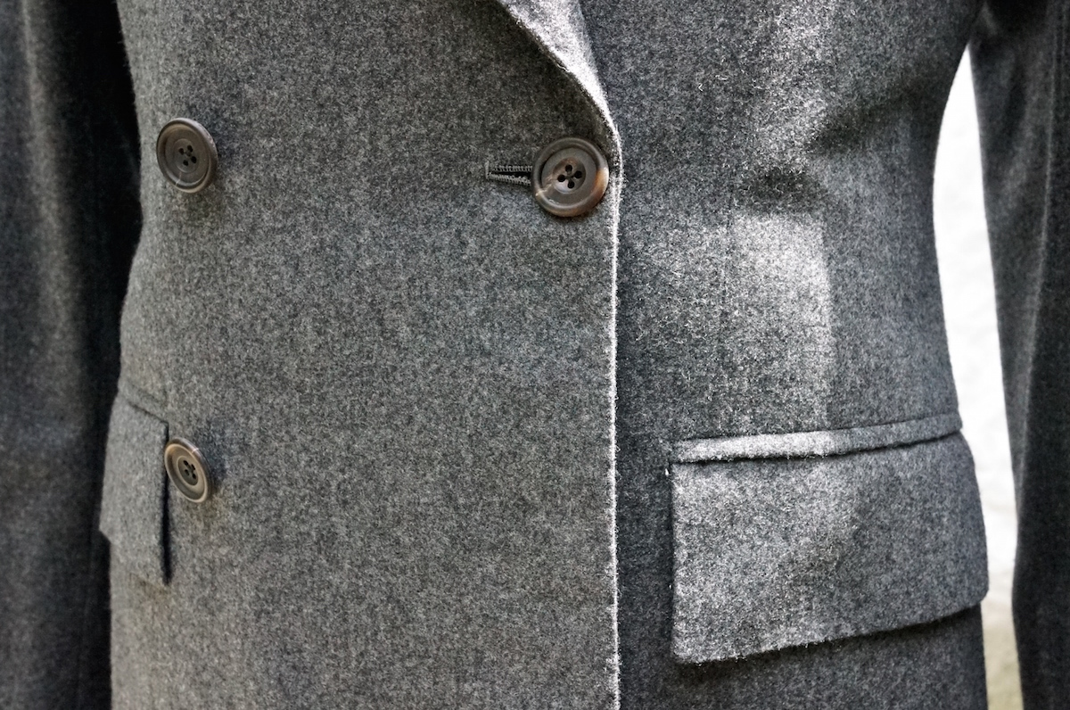 Edward Sexton grey flannel suit – Permanent Style