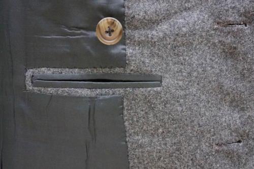 Edward Sexton flannel suit