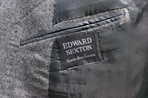 Edward Sexton savile row label