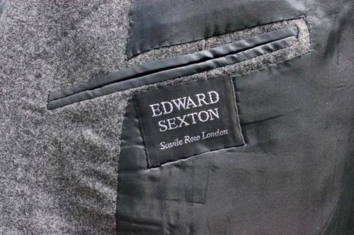 Edward Sexton savile row label