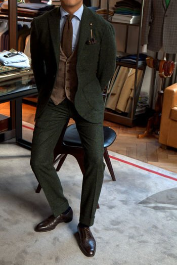Alan See waistcoat and tweed