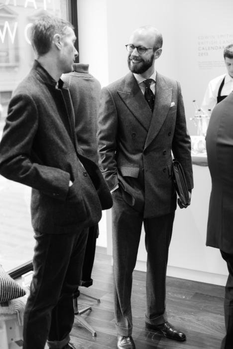Edward Sexton grey flannel suit3