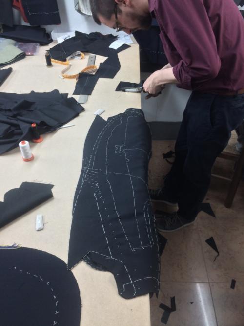 Liverano tuxedo making
