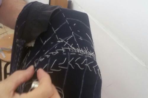 Panico suit making