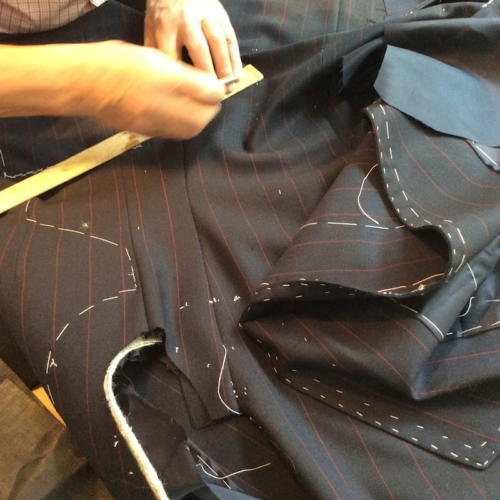 Richard Anderson bespoke suit