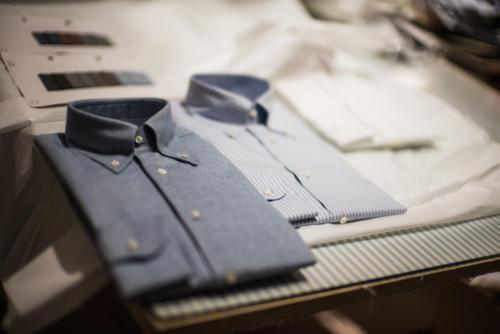 Simone Abbarchi shirts FLorence cutting