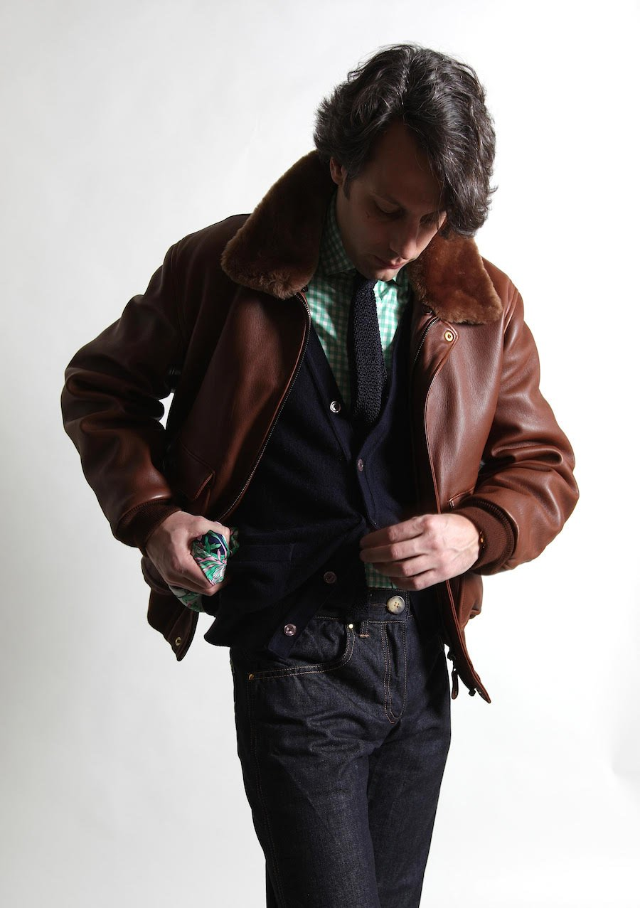 Chapal Leather Jackets France Permanent Style