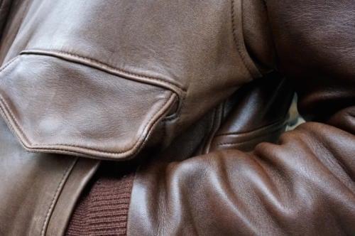 Chapal leather jacket