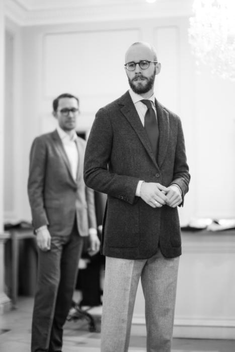 Hardy Amies bespoke tweed jacket Will