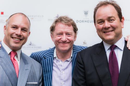 Pat Bunting - Dormeuil, Pat Murphy - Davies & Son and Geoff Wheeler. - Dugdale bros