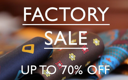 Drake's factory sale