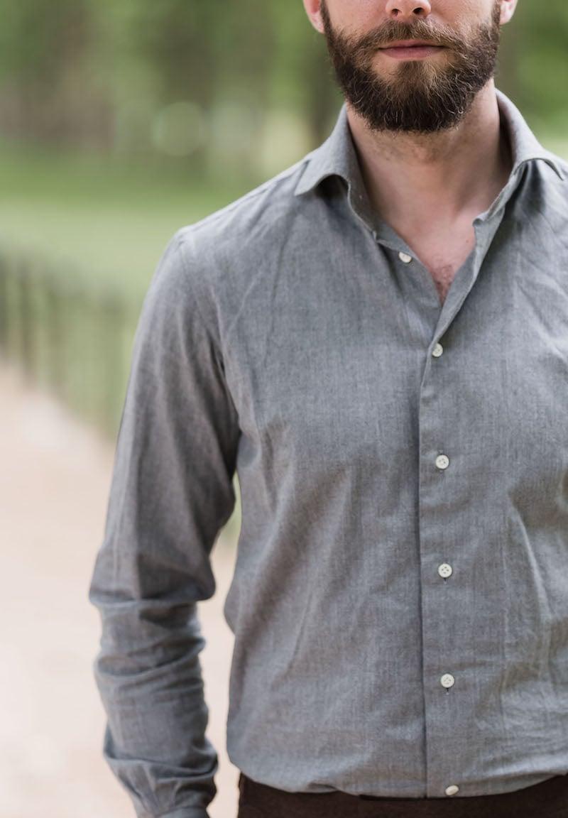 Simone Abbarchi – finished bespoke shirt