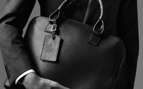 dunhill-leather bag