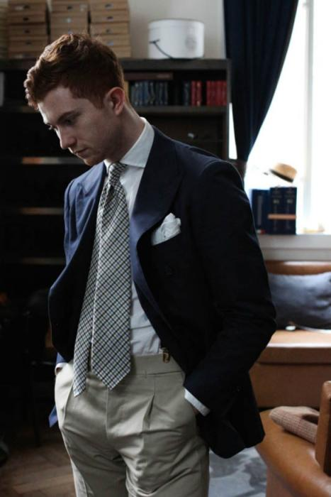 gingham-summer-tie-drakes-armoury-menswear-tie-e1373889483396