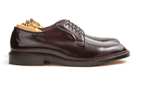 Alden cordovan shoe dark brown