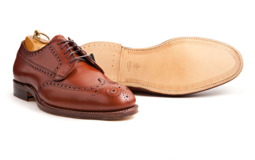 Alden tan blucher
