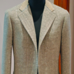 Caliendo naples bespoke jacket tweed
