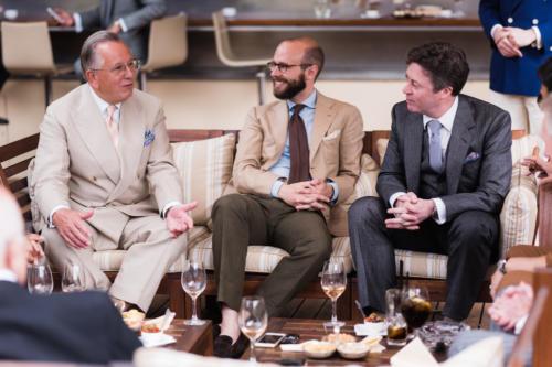 John Hitchcock, Simon Crompton, Richard Anderson