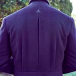 navy cashmere overcoat bespoke cifonelli