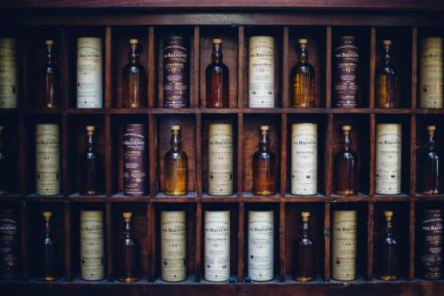 Balvenie whisky at launch