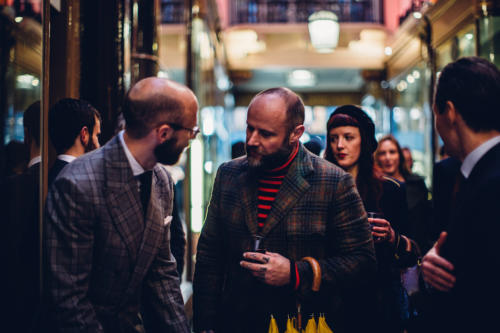 Finest Menswear Launch Sylvester London Undercover