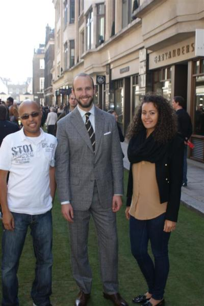 Savile Row Field Day with Derek and Sunna