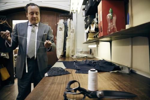 Steven Hitchcock bespoke jacket lamlana