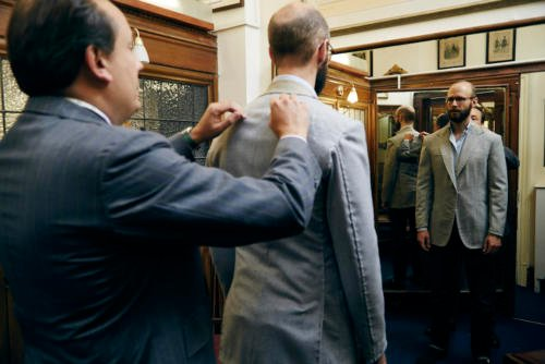Steven Hitchcock bespoke jacket2