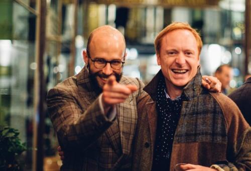 simon crompton and michael hill Finest menswear in the world