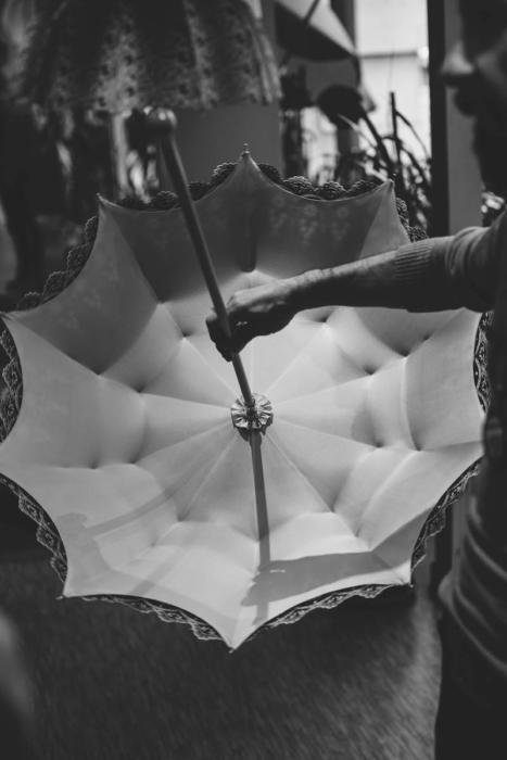 Michel Heurtault umbrellas Paris