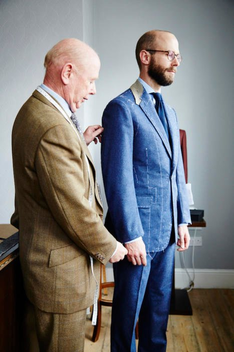 Whitcomb & Shaftesbury fitting suit