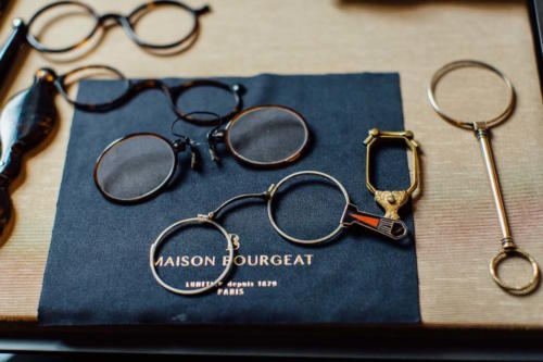 Maison Bourgeat glasses bespoke