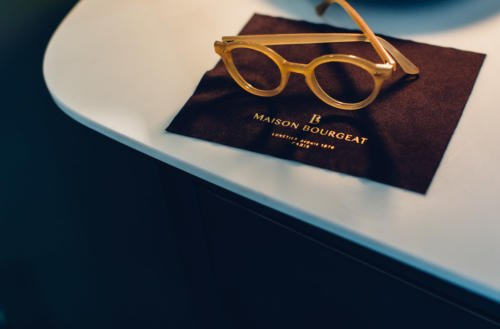 Maison Bourgeat glasses paris