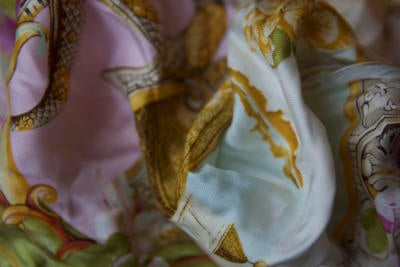 rubinacci silk handkerchief