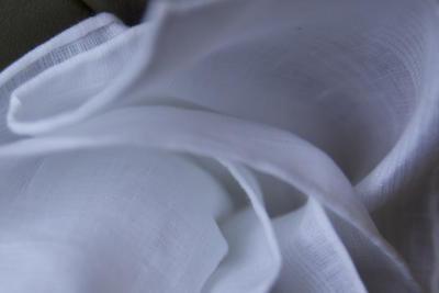 white simonnot godard handkerchief