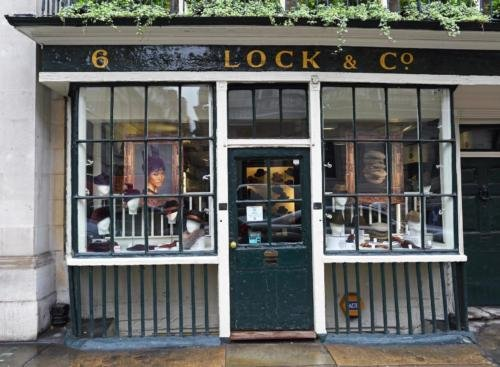 Lock & Co shop London