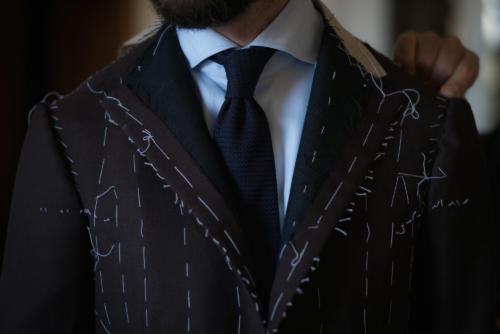 Sartoria Dalcuore Naples bespoke suit