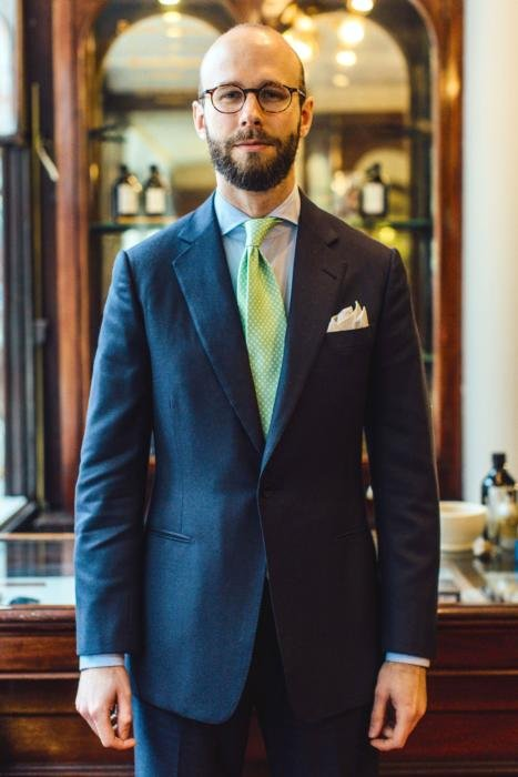 Whitcomb and Shaftesbury bespoke suit