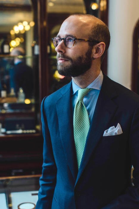 Whitcomb and Shaftesbury classic bespoke