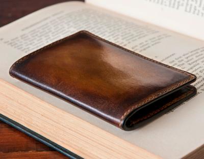 d'alembert hand-painted wallets